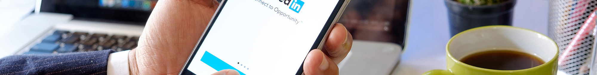 instructions on how to register and complete a profile on linkedin